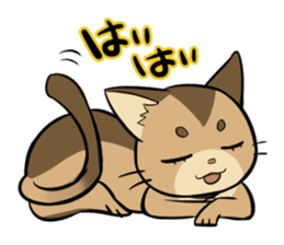 Abyssinian's hinata sticker #206323