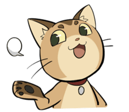 Abyssinian's hinata sticker #206332