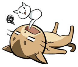 Abyssinian's hinata sticker #206333