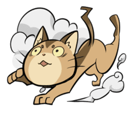 Abyssinian's hinata sticker #206343