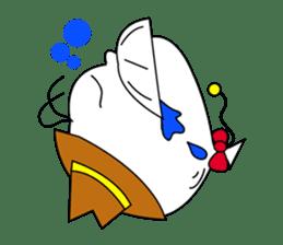 The balloon man. sticker #206945