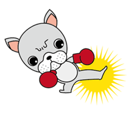 French bull fighter sticker #207223