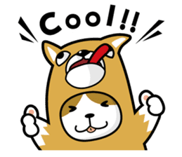 cat-dog(english ver.) sticker #207271