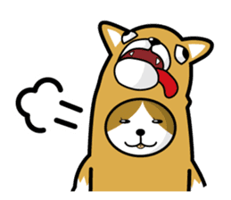 cat-dog(english ver.) sticker #207290