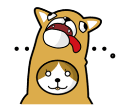 cat-dog(english ver.) sticker #207291