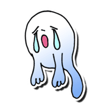 Is this a ghost? sticker #207929