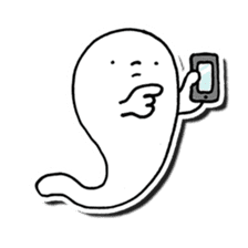 Is this a ghost? sticker #207936