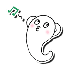 Is this a ghost? sticker #207945
