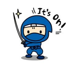 little ninja Chibikage-English version sticker #208998