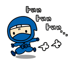 little ninja Chibikage-English version sticker #209001