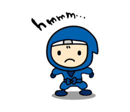 little ninja Chibikage-English version sticker #209003