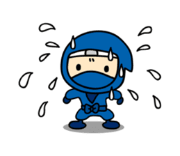 little ninja Chibikage-English version sticker #209014