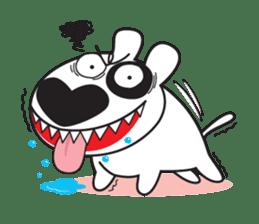 BULLY - The bull terrier sticker #209743