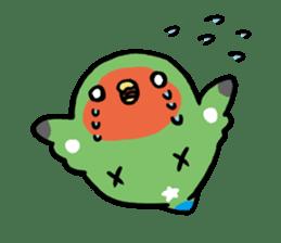 pet birds sticker #209895