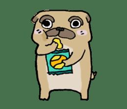 PUGPU sticker #210006