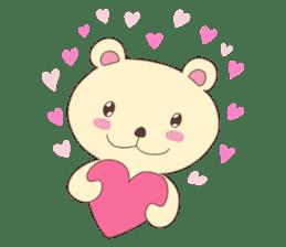 Haru, The Cute Little Bear sticker #210121