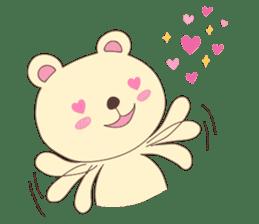 Haru, The Cute Little Bear sticker #210122