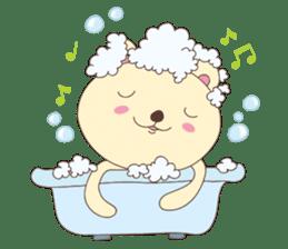 Haru, The Cute Little Bear sticker #210123