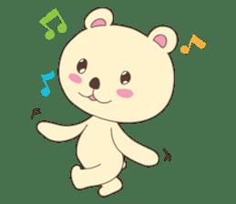 Haru, The Cute Little Bear sticker #210124