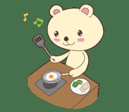 Haru, The Cute Little Bear sticker #210126