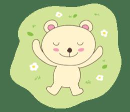 Haru, The Cute Little Bear sticker #210127