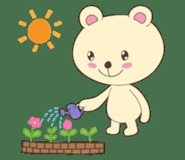 Haru, The Cute Little Bear sticker #210128