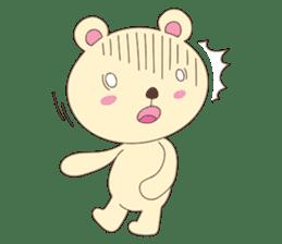 Haru, The Cute Little Bear sticker #210130
