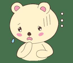 Haru, The Cute Little Bear sticker #210131