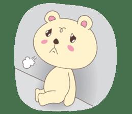 Haru, The Cute Little Bear sticker #210132
