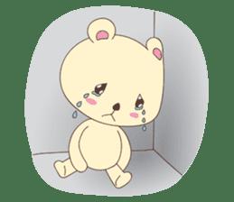 Haru, The Cute Little Bear sticker #210133