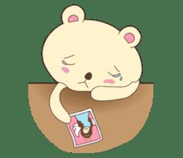 Haru, The Cute Little Bear sticker #210134