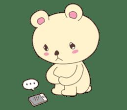 Haru, The Cute Little Bear sticker #210135