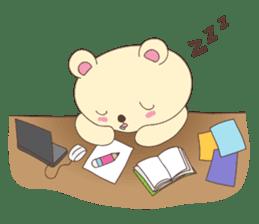 Haru, The Cute Little Bear sticker #210137