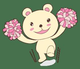Haru, The Cute Little Bear sticker #210138