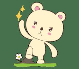 Haru, The Cute Little Bear sticker #210139
