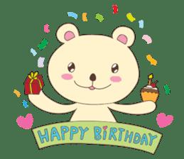 Haru, The Cute Little Bear sticker #210141