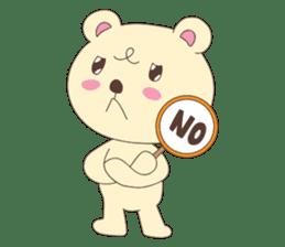 Haru, The Cute Little Bear sticker #210143