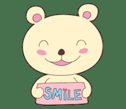Haru, The Cute Little Bear sticker #210145