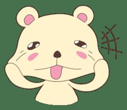 Haru, The Cute Little Bear sticker #210146