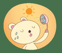 Haru, The Cute Little Bear sticker #210147