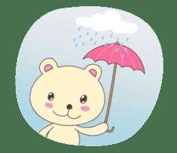 Haru, The Cute Little Bear sticker #210148