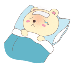 Haru, The Cute Little Bear sticker #210149