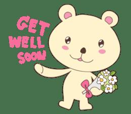 Haru, The Cute Little Bear sticker #210150