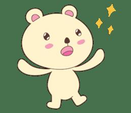 Haru, The Cute Little Bear sticker #210151