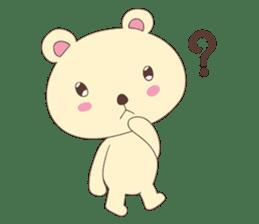 Haru, The Cute Little Bear sticker #210152