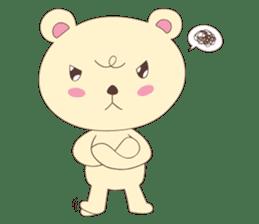 Haru, The Cute Little Bear sticker #210153