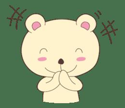 Haru, The Cute Little Bear sticker #210155