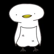 สติ๊กเกอร์ไลน์ White penguin.