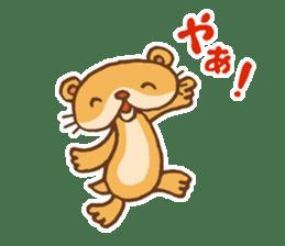 Otter-kun! sticker #210677