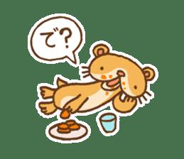 Otter-kun! sticker #210684